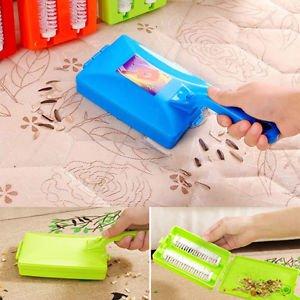 POP Handheld Carpet Table Sweeper Crumb Dirt Fur Brush Cleaner Collector Roller