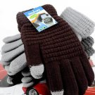 NEW Soft Winter Men Women Touch Screen Gloves Texting Capacitive Smartphone Knit