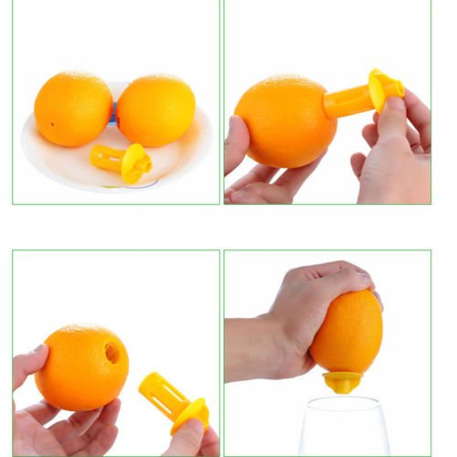 Lemon Time Red Silicone Manual Lemon Juicer New Design Red Tea Pot Shape Easy