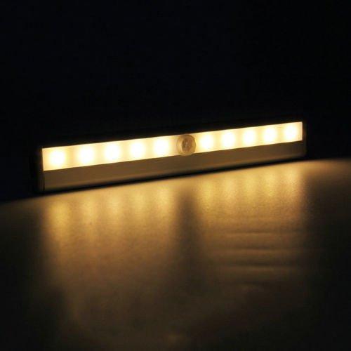 16 Led Solar Wall Light Motion Sensor Garden Outdoor Pathway Lamp Waterproof NEW
