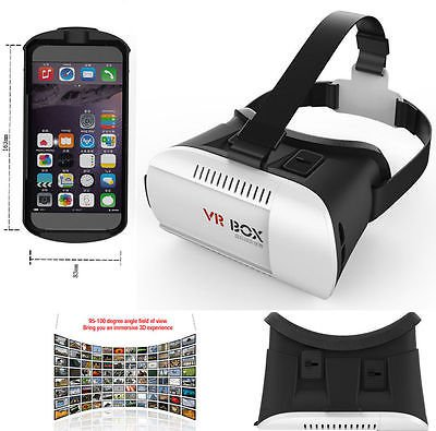 2015 Hot 3D VR Virtual Reality magnet Control video Glasses for 3.5~6 Smartphone