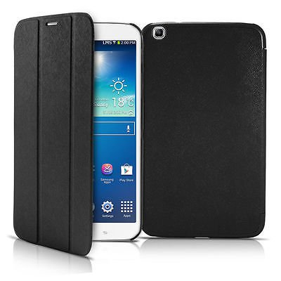 """Green FOR SAMSUNG GALAXY TAB 3 8.0"""" INCH THIN SMART COVER CASE WALLET STAND"""