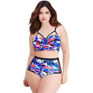 2016 Women Bandage Bikini Set Push-up Padded Bra Swimsuit Bathing Suit -Swimwear
