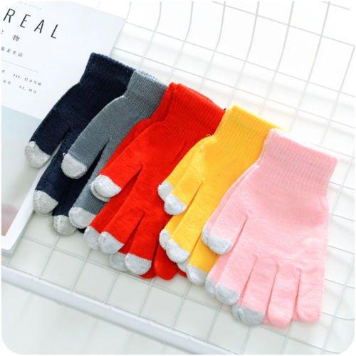 USB Heating Winter Hand Warm Wrist Gloves Heated Woolen Fingerless Warmer Mitten