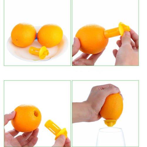 Kitchen Bar Stainless Steel Lemon Orange Lime Squeezer Juicer Hand Press Tools