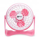 New Mini Portable Super Mute Computer PC USB Cooler Cooling Desktop Clock Fan