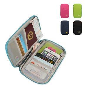 POP Travel Passport Credit ID Card Cash Holder Organizer Wallet Purse Case Bag
