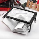 A4 Full Page 3x Magnifier Sheet LARGE Magnifying Glass Book For Reading Aid Lens