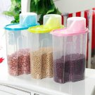 1 set 17 pcs Mini Clear Plastic Food Storage Box Container Lunch Box Lid Green