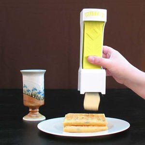 Butter Dishes Cheese Cutter Slicer One Click Squeeze Serves Stores Kitchen Tools