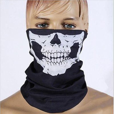 Ghosts Skeleton Skull Face Mask Biker Balaclava Call of Duty COD Game Hot
