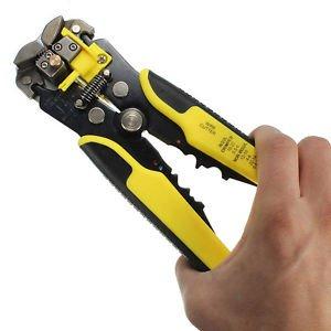 Professional Automatic Wire Striper Crimper Pliers Terminal Tool Cutter Stripper