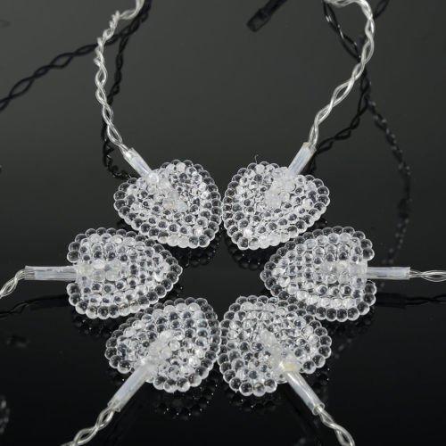LED Lamp Light Crystal Decoration Party Gift Decor Xmas Christmas Tree Hot