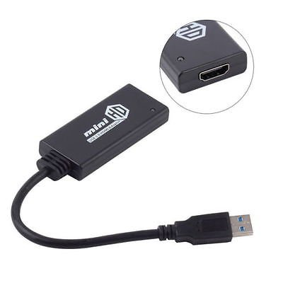 Hot HDMI Male to VGA With Audio HD Video Cable Converter Adapter  For PC Laptop