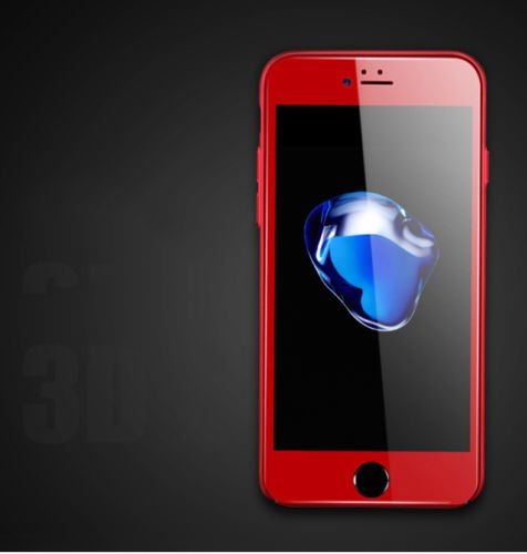 3 in 1 Fish Eye Fisheye + Wide Angle + Macro Lens Kit for iPhone 5 5s red color