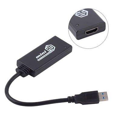 HDTV Mini Composite 1080P HDMI to RCA Audio Video AV CVBS Adapter Converter Hot