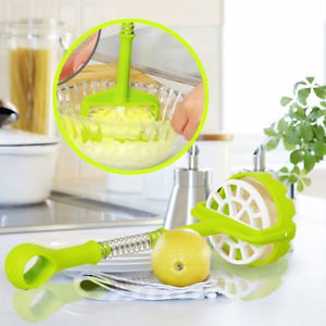 High Quality Stainless Steel Potato Press Masher Ricer Mashed Mini Kitchen Mold