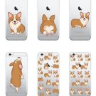 Funny Pet Dog Puppy Corgi Kiss My Ass Soft Case Cover for iPhone 7 7 Plus 6S