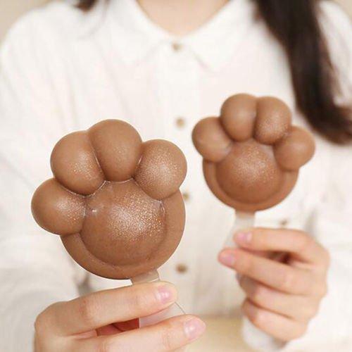 Cute DIY Ice Cream Maker Ice Pop Mold Cake Mold Frozen Food DIY Tool +20 sticks