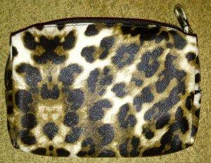 NEW Leopard print Makeup bag / cosmetic bag