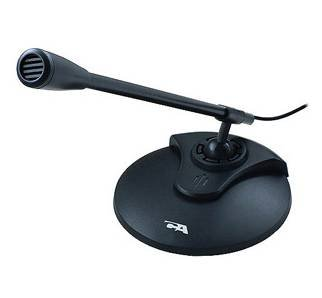 Cyber acoustics computer microphone