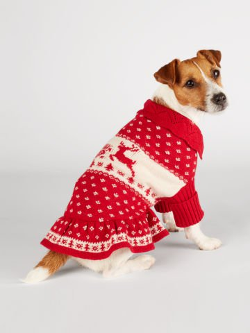 Ralph Lauren red reindeer sweater, size XL