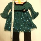"CUTE DOLLIE and ME / AMERICAN GIRL DOLL DRESS OUTFIT fits ANY 18"" DOLL GARMENT g"