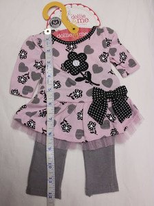"CUTE DOLLIE and ME / AMERICAN GIRL DOLL DRESS OUTFIT fits ANY 18"" DOLL GARMENT f"