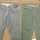 "2 PCS WOMEN'S STRETCH JEANS ""APOLLO"" sz 13/14 & ""OUT"" JEANS sz 10 PANTS GRT COND"