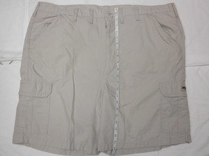 "WRANGLER MEN'S BIG & TALL CASUAL CARGO SHORTS sz 40"", KHAKI, LOT'S OF POCKETS"