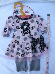 """CUTE DOLLIE and ME / AMERICAN GIRL DOLL DRESS OUTFIT GARMENT fits ANY 18"""" DOLL!"""