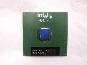TESTED INTEL celeron 667mhz 128K CPU