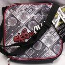 "SK8ER CLUB Insulated Lunch Box Bag Black/White Meas. 8.5 x 8.5"" NWT  Rugged cool"