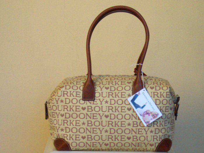 DOONEY AND BOURKE EAST WEST SOFT SATCHEL