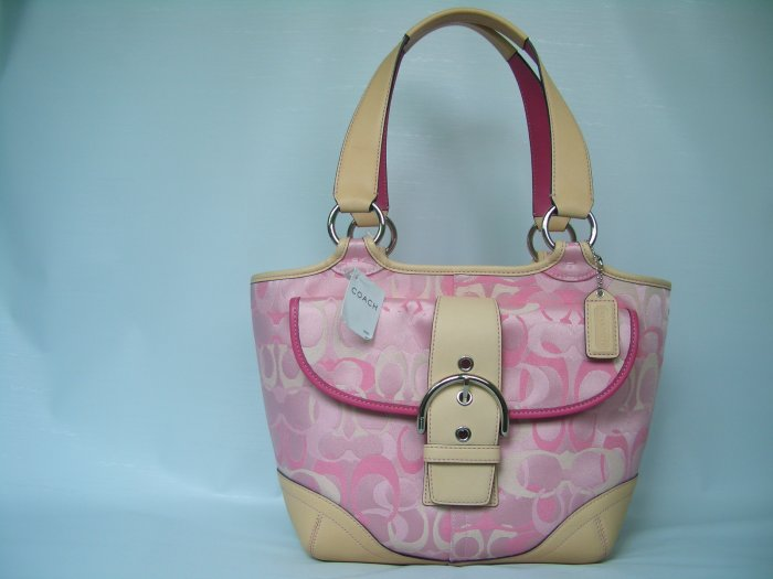 NWT COACH SOHO OPTIC PINK BAG