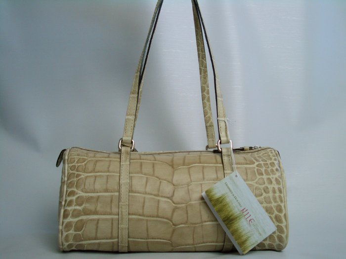 NWT DOONEY AND BOURKE NILE BARREL BAG