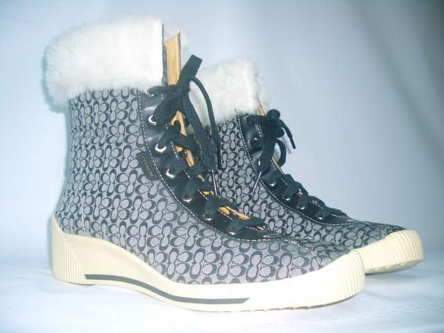 Authentic Coach Nancy Signature Boots