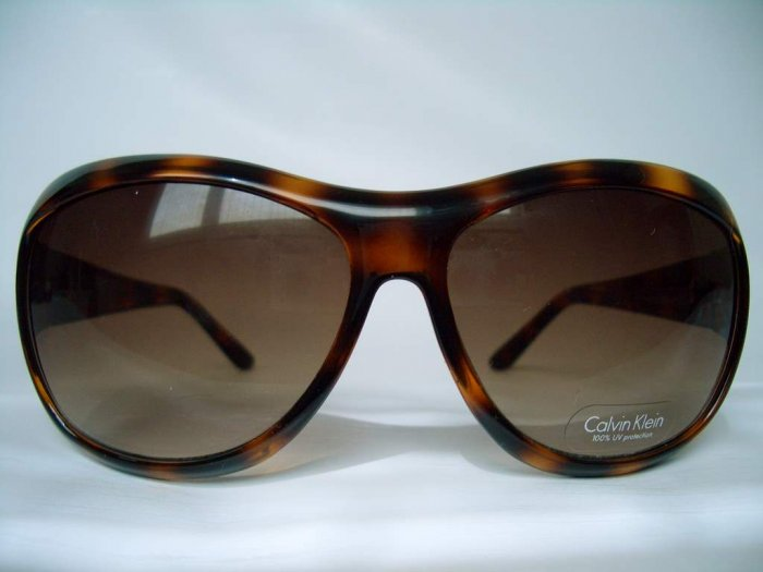 AUTHENTIC CALVIN KLEIN BROWN SUNGLASSES