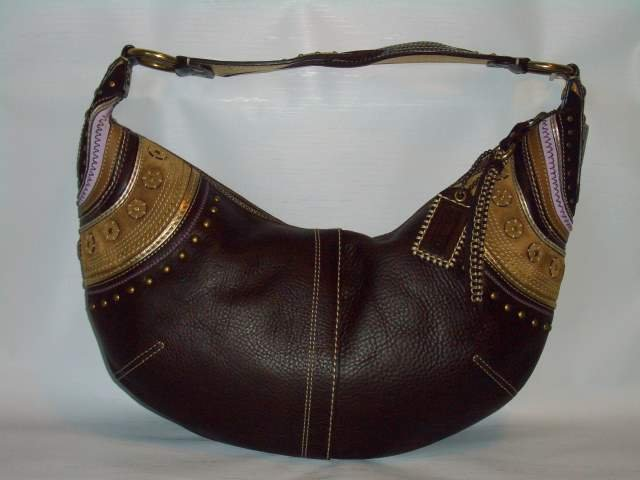 Coach Leather Stitch Large Hobo handbag 10478