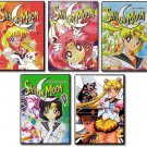 Sailor Moon Complete Uncut Series DVD Set - Season 1, 2, 3, 4, 5