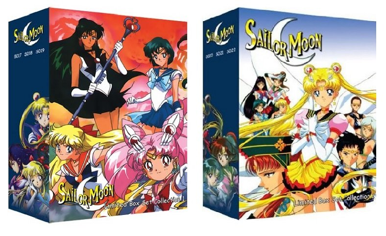 Sailor Moon - Limited Edition DVD Box Set 1 and 2 - The Complete Uncut Series and Movies�