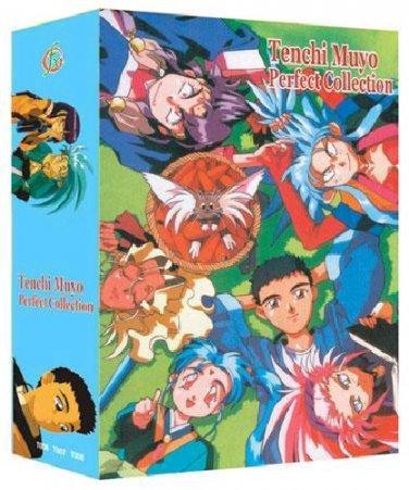 Tenchi Muyo - The Complete Anime Series + OVA + Movies Collection DVD Box Set