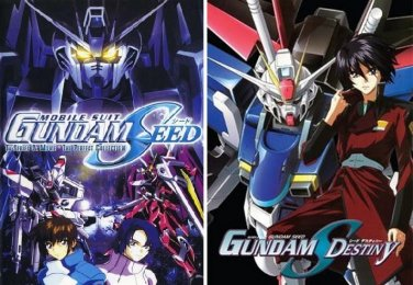 Mobile Suit Gundam Seed and Gundam Seed Destiny - The Complete Anime Series DVD Set Collection
