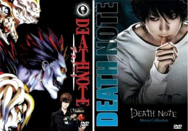 Death Note - The Complete Anime Series and Movie DVD Set Collection (All Three Movies)�