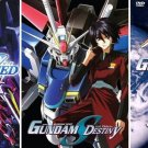 Mobile Suit Gundam Seed and Seed Destiny - The Complete Anime Series + Movies DVD Set Collection