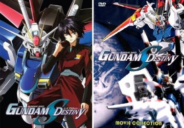 Mobile Suit Gundam Seed Destiny - The Complete Anime Series� + Movie DVD Set Collection