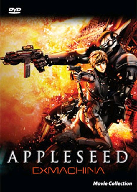 Appleseed and Appleseed Ex Machina - Anime Movie Collection DVD