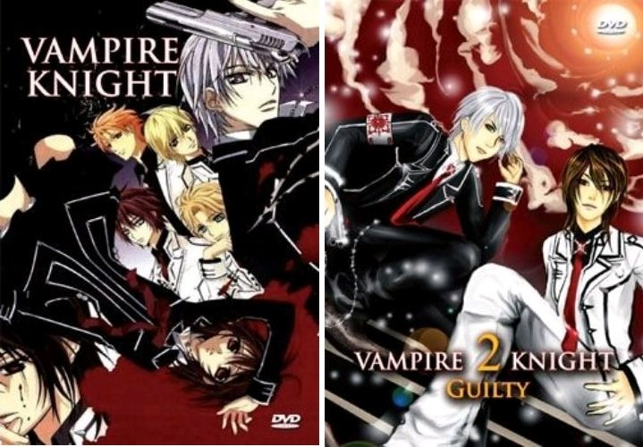 Vampire Knight - The Complete Series DVD Set - Season 1 and 2