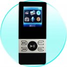 2GB Pocket Mp3/Mp4 Video Player - 1.5 Inch Screen - Dual Earphone