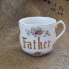 Vintage Father Mug | Cup Made in Japan | Gilded | 1940's | Porcelain